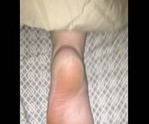 Cum On Sleeping Gf Foot 2.MOV
