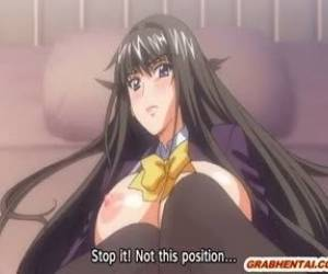 Busty Hentai Coed Hard Poking And Creampie