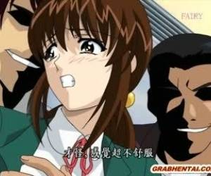 Japanese Hentai Teacher Gangbang By Bandits