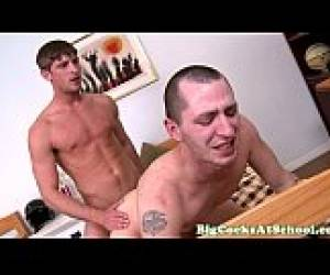 Gay University Teen Fucked By Thick Rod