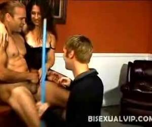 Bisexual Pleasing Brunette