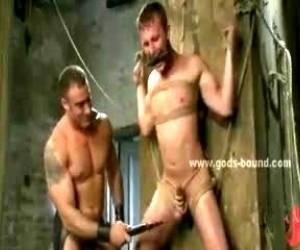 Man Holes Foraged In Deep Gay Bondage Sex By Nasty Horny Sex Master