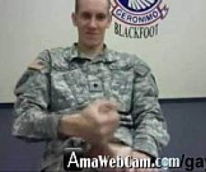 SOLDIER VIA WEBCAM - AmaWebCam.com/gay