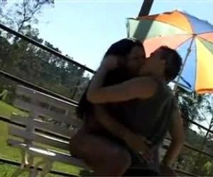 Fervent Fucking With Hot Ladyboy Outdoor