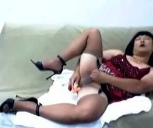 Hot Asian Ladyboy Solo