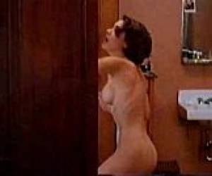 Alyssa Milano Celeb Tight Butt Naked