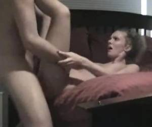 Cute TEENS Fucked On The Couch