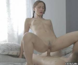 Sexy Teen Babe Fucked Hard With A Creampie Cumshot
