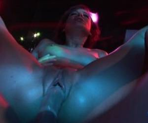 Stunning Brunette With Fantastic Ass Loves To Ride A Big Cock In Her Cunt
