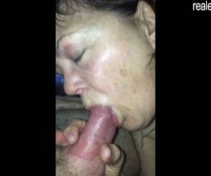 50 Years Old Brenda Enjoying 2 Cocks