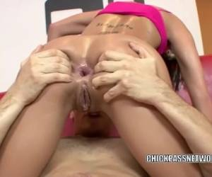 Chanel White Takes A Big Cock In Her Butt