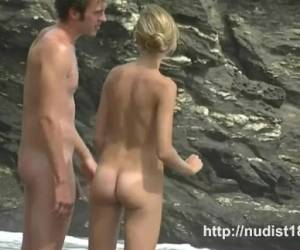 Nudist Beach Voyeur Video