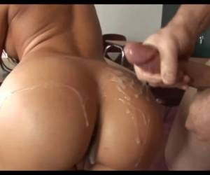 Rachel Starr Ass Cumshot Compilation Vol.1