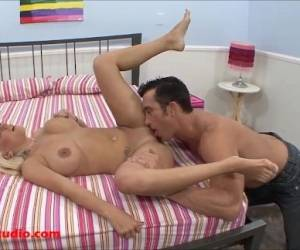 Big Real Tits Horny Girls Fucked Big White Cock To Pay Her Rent