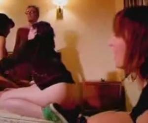Punk Sex Episode  Immature Punk Cuties Fucking In Hotel Room Party