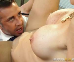 Big Tits At Work: Dreamy Office Tits. Rhylee Richards, Keiran Lee