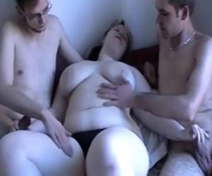 White BBW Threesome
