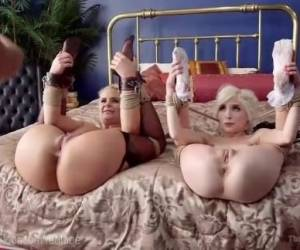 Step-Mother And Step-Daughter Sex Slaves
