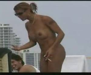 Voyeur Of Amateur Sheamle On A Beach