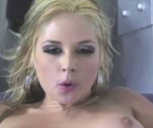 Sarah Vandella Swallowing Compilation