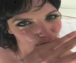 BOBBI STARR Swallowing Compilation