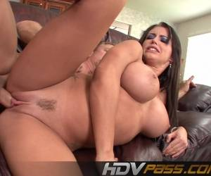 Busty Brunette Jenna Presley Owned By Big Pole