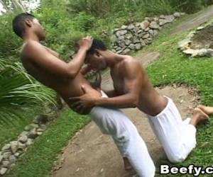 Two Black Homos Get On Each Other To Enjoy Their Passion