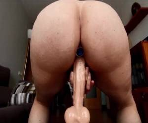 Big Dildo Riding