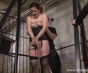 Slave Caroline Pierce Whipping And Strict Double Domination