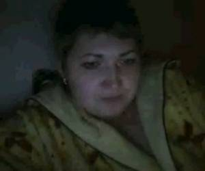 Ugly As Shit Russian Webcam Bitch Showed My Buddy Her Tits
