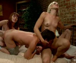 Dylan Ryan And Maitresse Madeline In Femdom Pegging Foursome