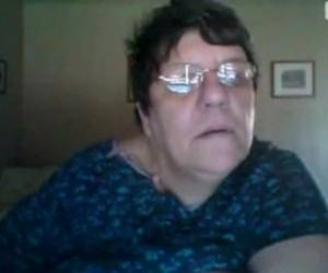 Fat Amateur Granny In The Webcam R20