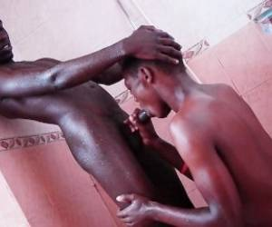 Black African Twinks On Cock Sucking