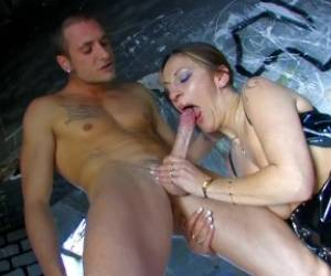 Halana K Is A Hot French Dominatrix That Gets Fucked Hard Outside