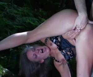 Mommy Having Sex In The Woods