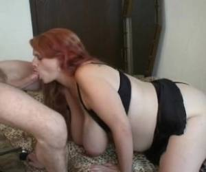 Pregnant Smoking Blowjob