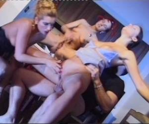 3 Girl Anal Treat In A Countryside Retreat