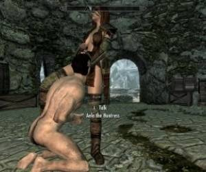 Skyrim: Sex With Aela (Fluke Zion Remake)