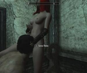 Skyrim: Sex With My Female Character