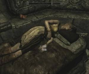 Skyrim - Sex With Hroki