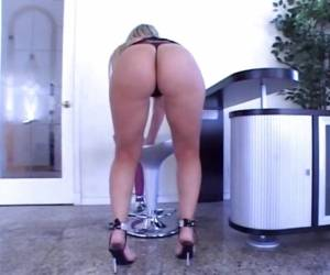 Sexy MILF Sara Jay Shows Off Her Amazing Body Before Taking On A Big Black Cock