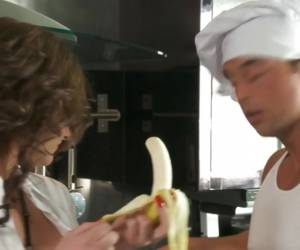 Rampant Phoenix Marie Is A Flirt With This Banana