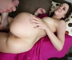 Sexy Teen Scarlett Sawyer Cum On Big Ass