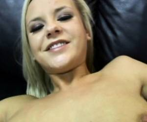 Stunning Young Blonde Bree Olson Relishes A Deep Drilling POV Style