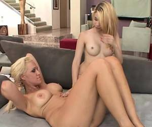 Mae Olsen And Ava Delanie In Some Sweet Clit Licking And Pussy Fingering
