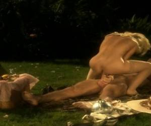 Sexy Blonde In Period Dress Gets It On With Her Suitor On Her Plantation Lawn