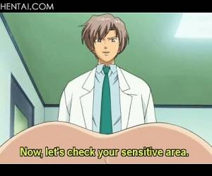 Nasty Hentai Doctor Toys Tight Ass With Speculum And Gets BJ