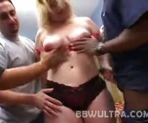BBW Solsa Interracial Bang
