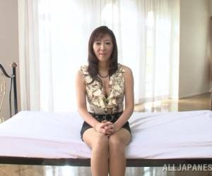 Inviting Asian Mature Babe Noriko Igarashi Gets Cum Facial