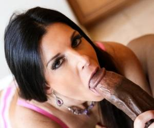 India Summer In Sexy MILF India Summer Sucking My Cock Video